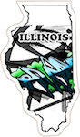 State of Illinois Magnets